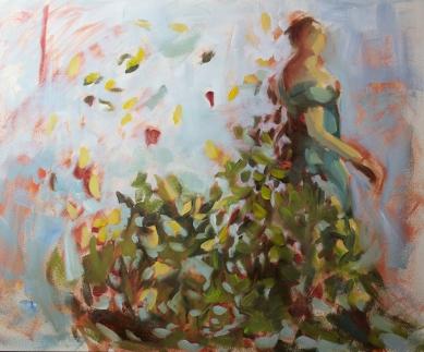 Lady Autumn-study