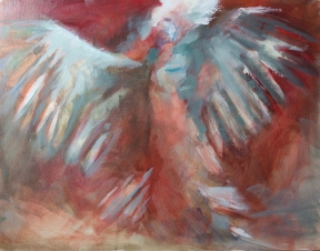 Flying on Eagle Wings-study